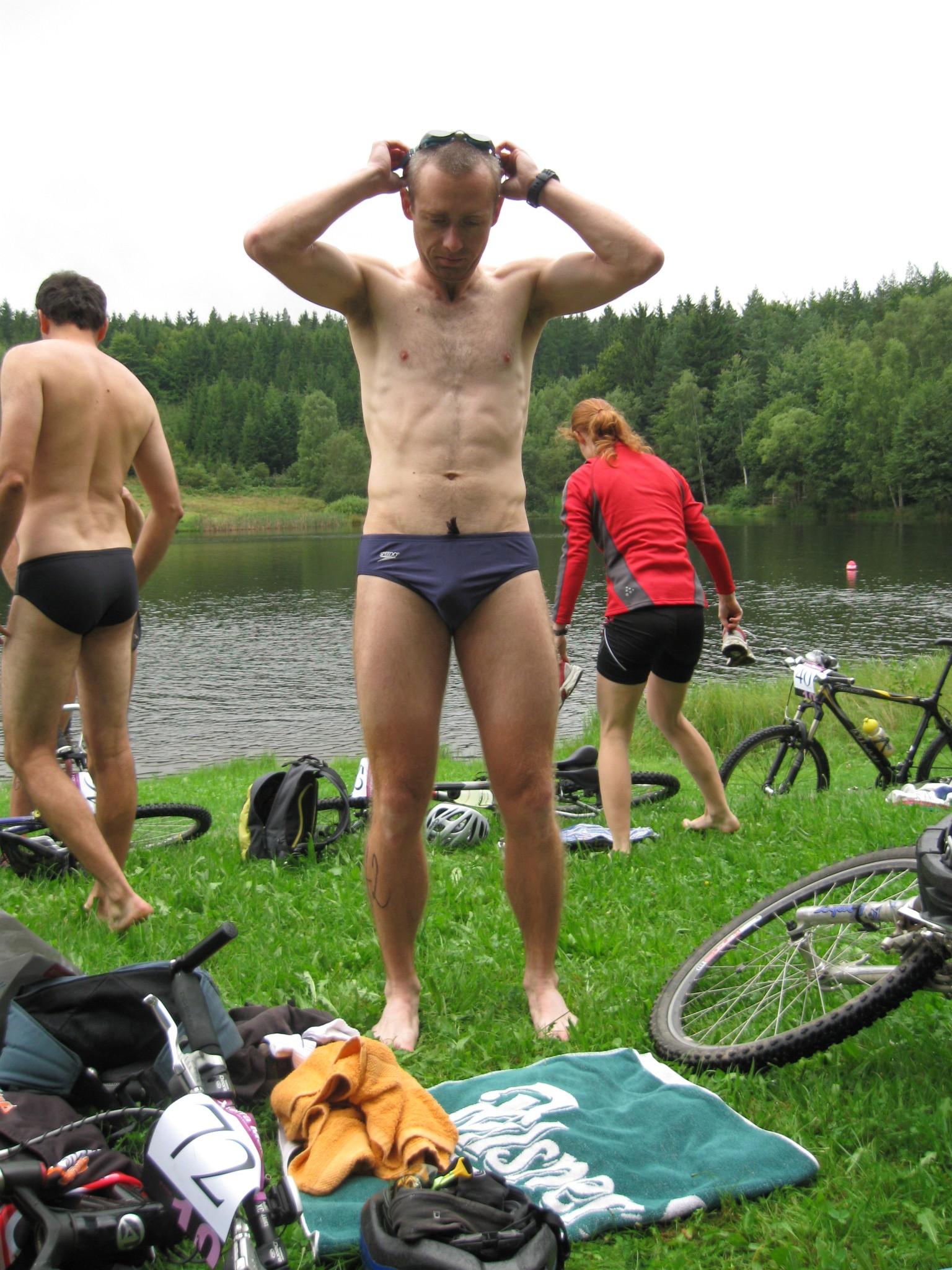 Rozcvičení před plaváním